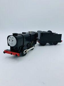 Motorized Trackmaster Thomas & Friends Train Tank Engine Neville w/ Tender Works