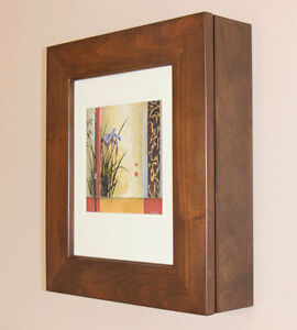 Image Is Loading Wall Mount Picture Frame Medicine Cabinet NO MIRROR