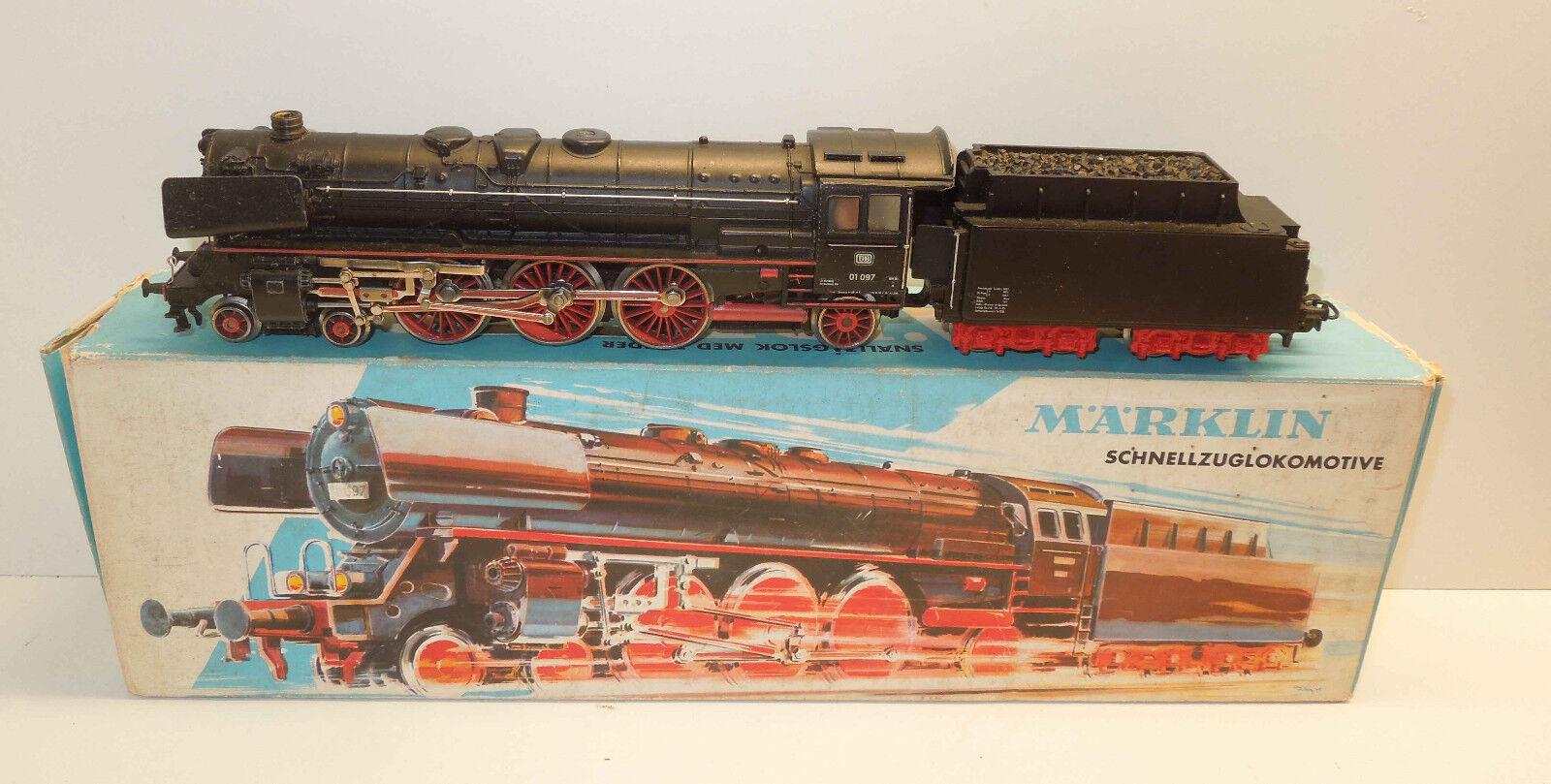 Märklin H0 3048 Dampflok BR 01 097 der DB im Bilderkarton (2)