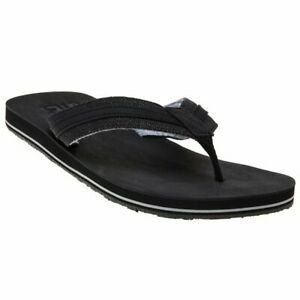 632f9cce5 Image is loading New-Mens-Superdry-Black-Roller-Cotton-Polyurethane-Sandals-