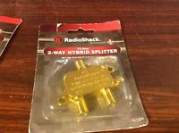 Radioshack 2-way Hybrid Splitter 15-1234