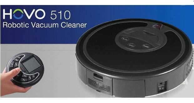 Infinuvo Hovo 510 Robotic Vacuum Cleaner Battery Charger Remote Control IQX510