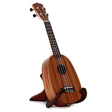 21 Inch Soprano Ukulele Uke Sapele Hawaiian Musical Instrument Brown