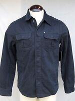 Quicksilver Cloverfield Snap Up Jacket Mens - Small - Black - $75