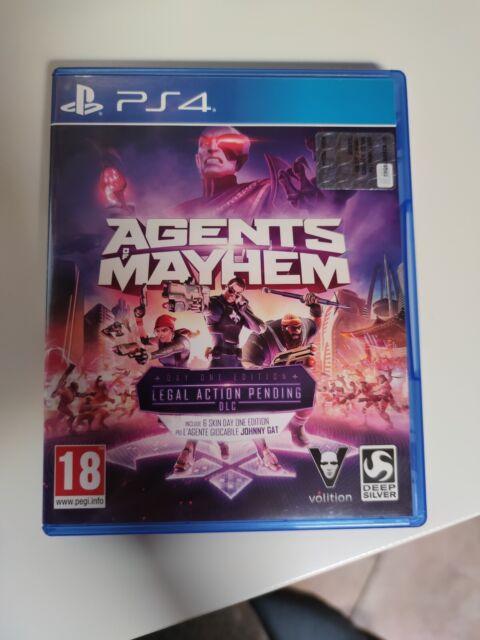 SONY PLAYSTATION 4 PS4 AGENTS OF MAAYHEM PAL ITALIANO ☆