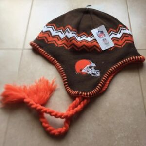 new product 5cad5 f8d89 Image is loading NFL-CLEVELAND-BROWNS-BEANIE-Fast-Shipping