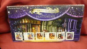 Christmas-2008-British-presentation-pack-Pantomime-P559