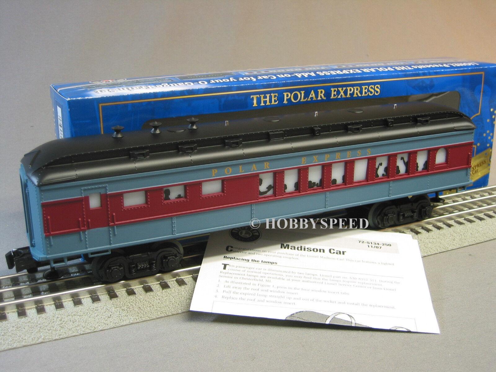 Lionel polar - express baby madison diner auto personenzug weihnachten 6-25134