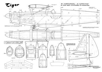 2019 Ultimo Disegno Wik Tiger R/c Sport Biplano Modello Piano-mostra Il Titolo Originale