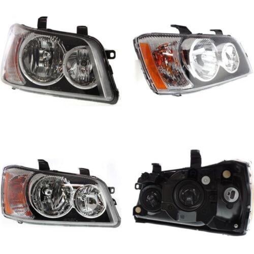 TO2503141 Headlight for 01-03 Toyota Highlander Passenger Side