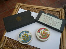VINTAGE OLD BOXED ROUND PLAYING CARDS ORIENT LINE LONDON TO AUSTRALIA SPARES