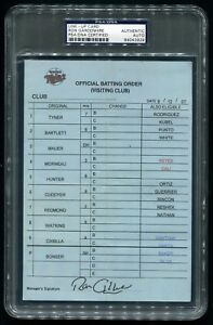 TWINS-VS-ANGELS-SIGNED-GAME-USED-LINE-UP-CARD-8-12-2007-JERED-WEAVER-WIN-PSA-DNA