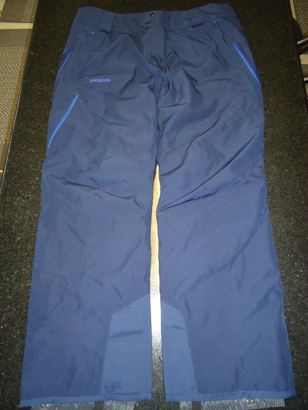 PATAGONIA POWDER BOWL INSULATED GORE-TEX PANTS MEN'S (XL) -