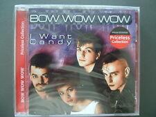Bow Wow Wow - I Want Candy, Neu OVP, CD, 1990
