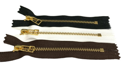 EVERBRIGHT® Top YKK #5 zipper USA Fashion Trends with wire Bell Pull Closed End