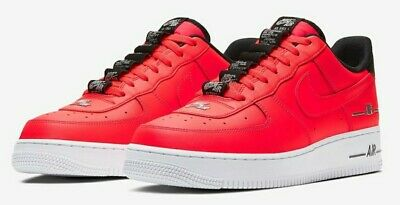 Nike Air Force 1 '07 LV8 3 Laser Crimson CJ1379-600 Men's Size 12.5 | eBay