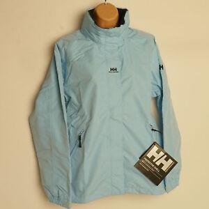 HELLY HANSEN ADEN Waterproof Jacket LIGHT BLUE Waterproof Womens
