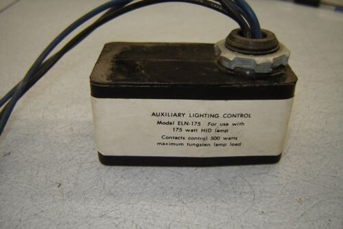 Auxiliary Lighting Control model ELN-175 NOS