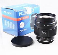 Zenit MC Zenitar-C S 50mm f/1.2 Lens for Canon EOS EF mount APS-C 80D 100D 750D
