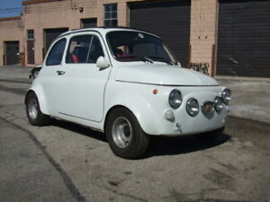 1970 Fiat 500 Abarth classic vintage rare small car 2 cylinder