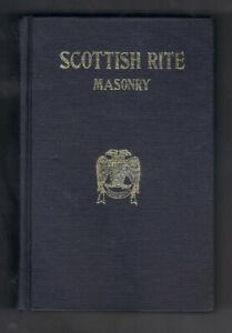 Vtg Scottish Rite Masonry Illustrated Complete Ritual Services - Handbook 1979
