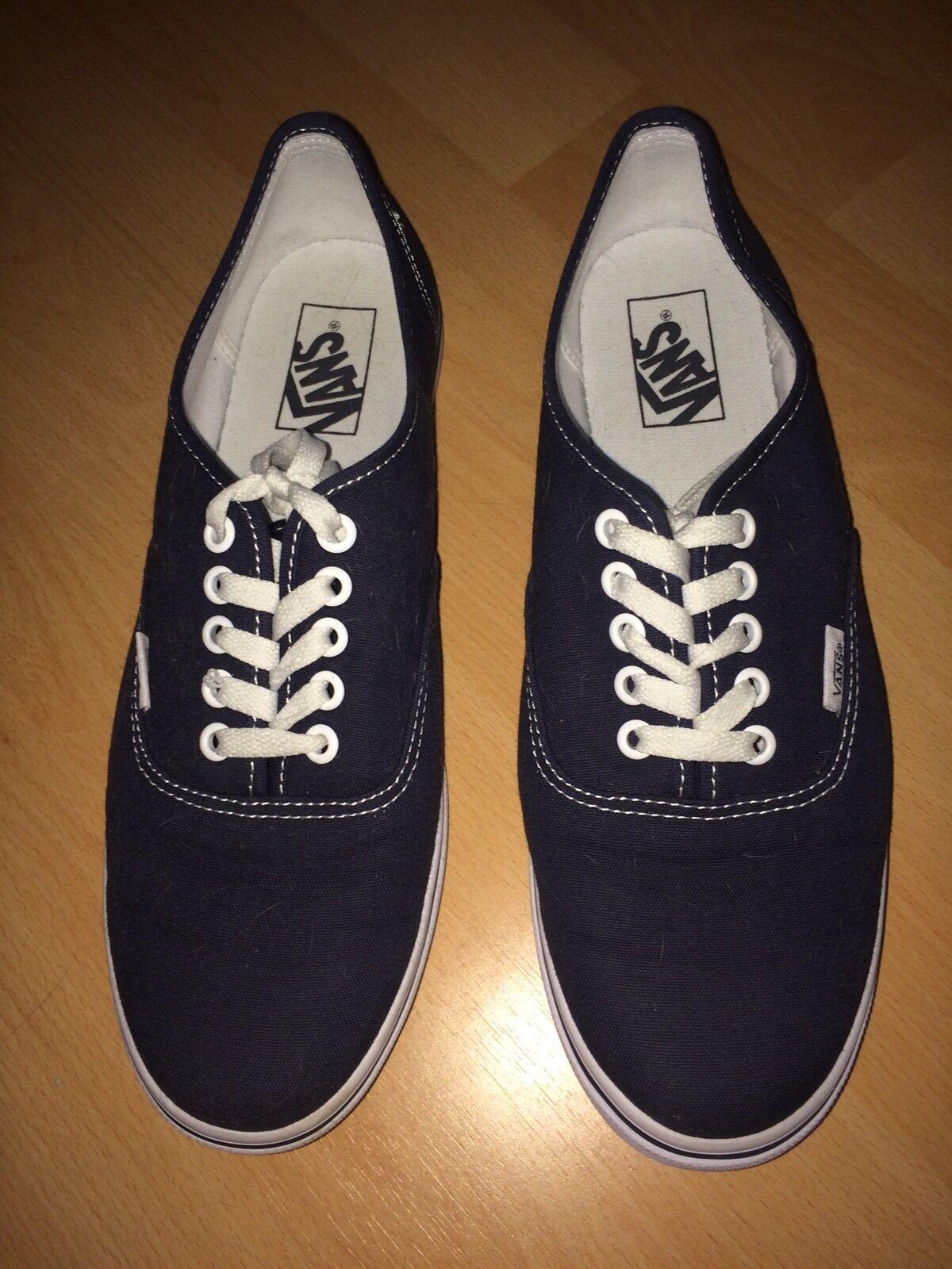 VANS Damen Schuhe Turnschuhe blau dunkelblau marine 40 US 9,5 Sneaker