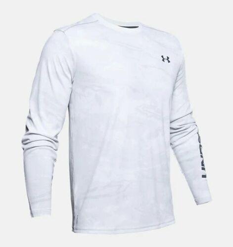 Under Armour Iso-Chill Shore Break Camo Crew Long Sleeve Shirt