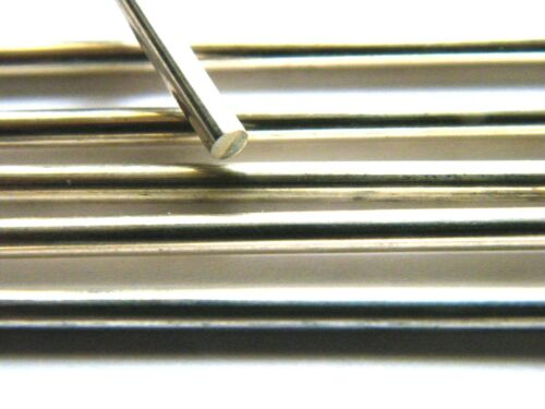 Sterling Silver Rod Solid Wire 3.0mm x 100mm Straight Length  Fully Hard .925