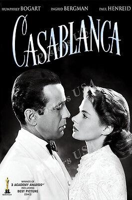 Casablanca Movie Poster Glossy Finish Posters USA MCP526