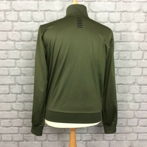 Khaki Designer Emporio S Poly Ea7 Uk Core Mens Track Volledige Top Armani Casual Zip FXwTqZ