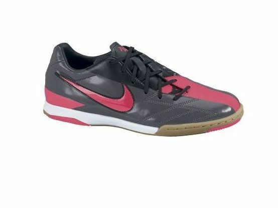Nike Total 90 Shoot IV IC Indoor 2018 Soccer Shoes New Black - Solar Red