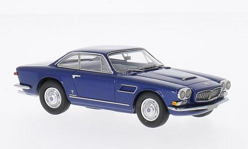 Maserati Sebring Series II Metallic bluee 1 43 Model NEO SCALE MODELS