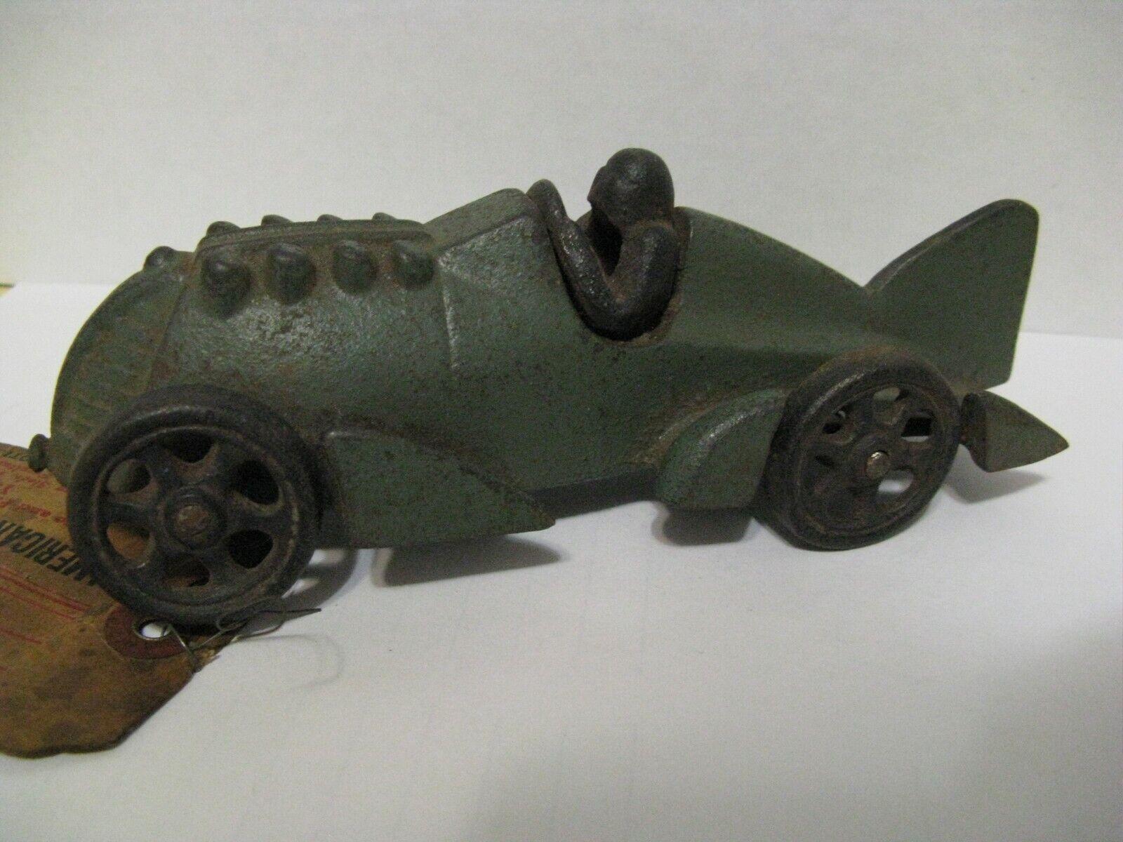 Original Hubley J-201 Vintage Shipment Tag American Toy & Novelty Works StillOn