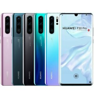 "Huawei P30 Pro 256GB VOG-L29 Dual Sim (FACTORY UNLOCKED) 6.47"" 8GB RAM 40MP"