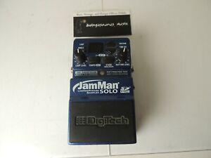 Digitech Jamman Solo Looper Effects Pedal Phrase Sampler Free USA Ship