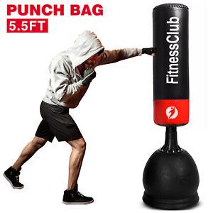 Kids Free Standing Boxing 3-5FT Punch Bag Junior Grappling Kicking Punching Bag