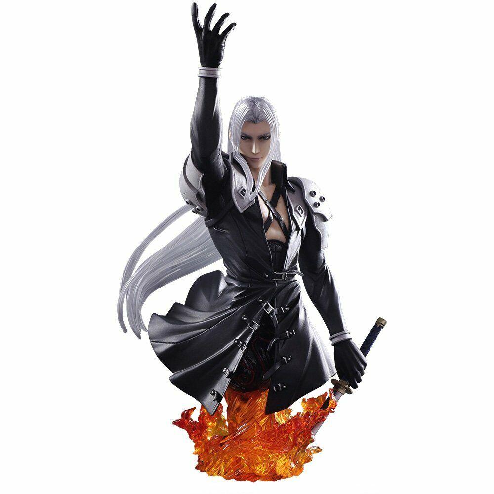 Arte estática busto Final Fantasy VII sephirojohf s