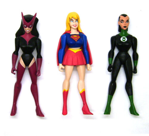 DC JLU Justice League Unlimited Katma Tui Supergirl Star Sapphire Action Figure