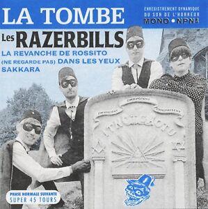 LES-RAZERBILLS-La-Tombe-vinyl-7-034-EP-garage-surf-instro-The-Pharaohs-Insects