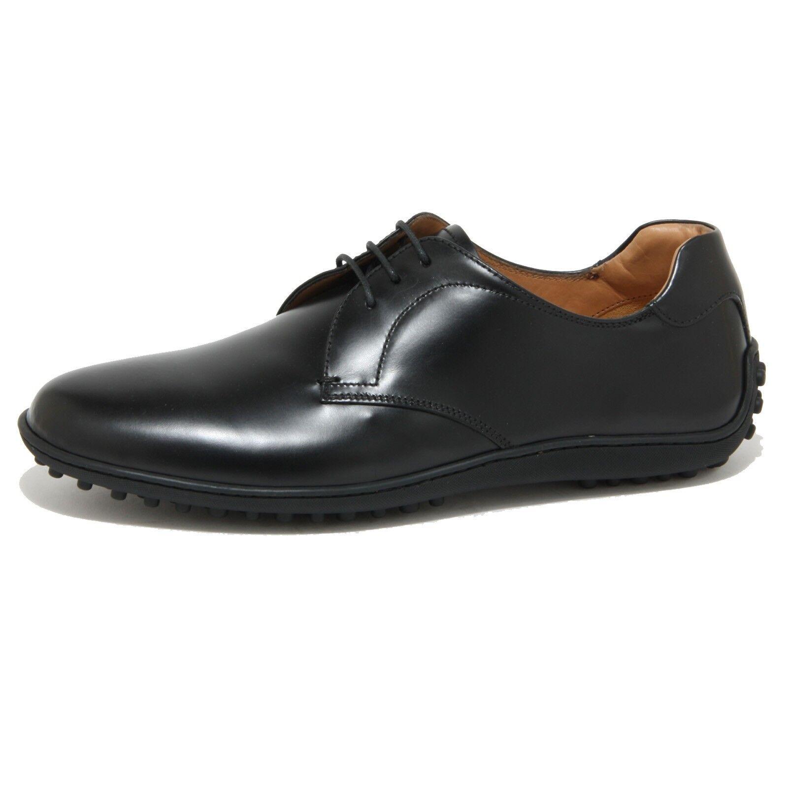 0927O scarpa allacciata CAR SHOE nero scarpe uomo Scarpe Uomo