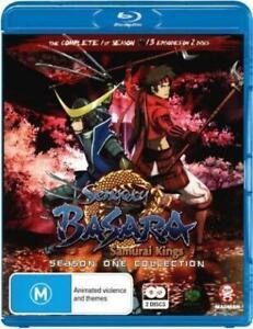 Sengoku-Basara-Samurai-Kings-Season-1-Blu-ray-2010-2-Disc-Set-free-postage