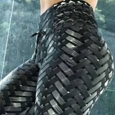 Sport Womens Compression Fitness Leggings Running Yoga Gym Scrunch Pants Workout