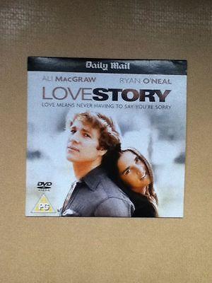 Love Story DVD Ryan O'Neal Ali MacGraw John Marley Region 2 Europe