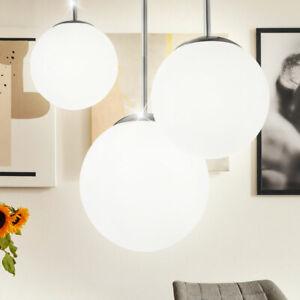 Design Decken Strahler Leuchte Gäste Schlaf Zimmer Glas Kugel Lampe satiniert