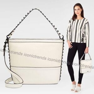 NWT-REBECCA-MINKOFF-BLYTHE-SMALL-CONVERTIBLE-HOBO-LEATHER-ANTIQUE-WHITE