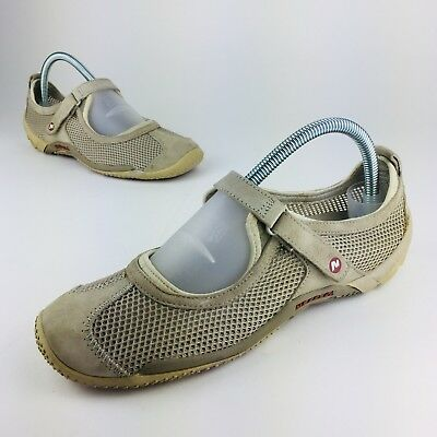 Clothing, Shoes & Accessories Comfort Shoes Apprehensive Merrell Circuit Ortholite Qform Womens Sz 8.5 Taupe Mesh Hiking Shoes Foot Wear