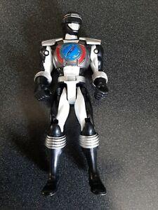 "Bandai Power Rangers 2006 5.5"" Action Figure Black/White No Accessories"