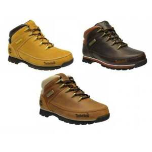 ddbbef2dcce Details about Timberland Euro Sprint Hiker Nubuck Mens Boots All Sizes in  Various Colours