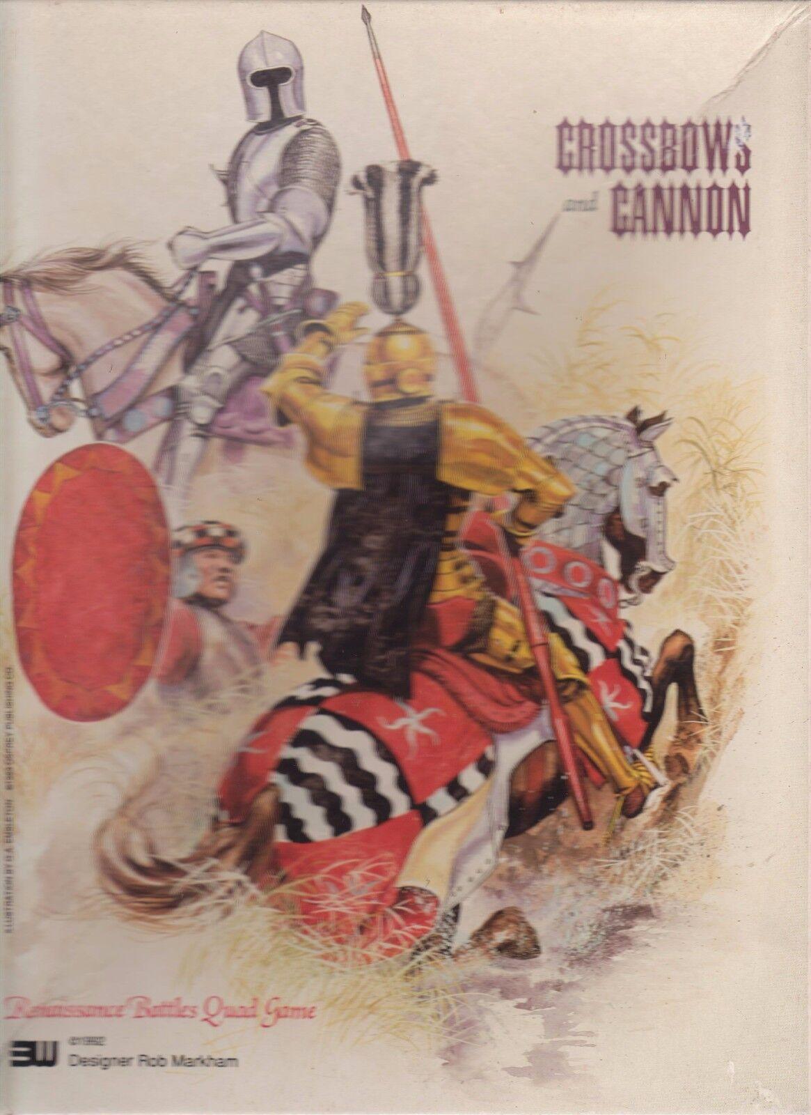 Crossbows and Cannon  Board Game Wargame Strategy RPG gioco da tavolo 3W