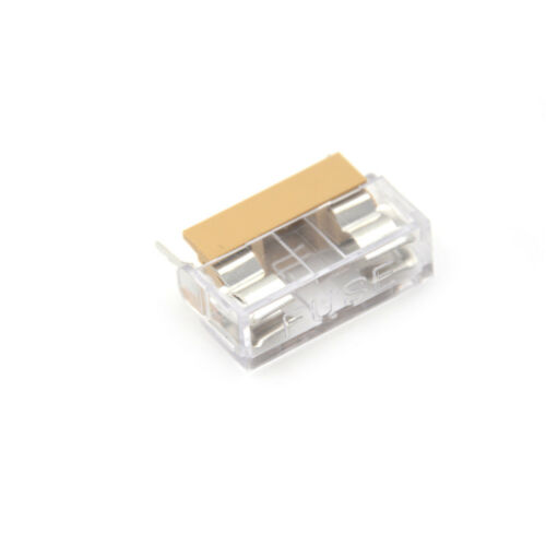 5PCS Panel Mount PCB Fuse Holder With Cover For 5x20mm Fuse 250V 10A new.